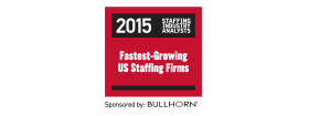 Fastest-Growing US Staffing Companies