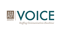 AccruePartners awards VOICE staffing communication excellence