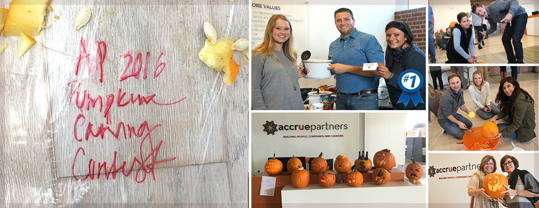 Accrue pumpkin carving contest