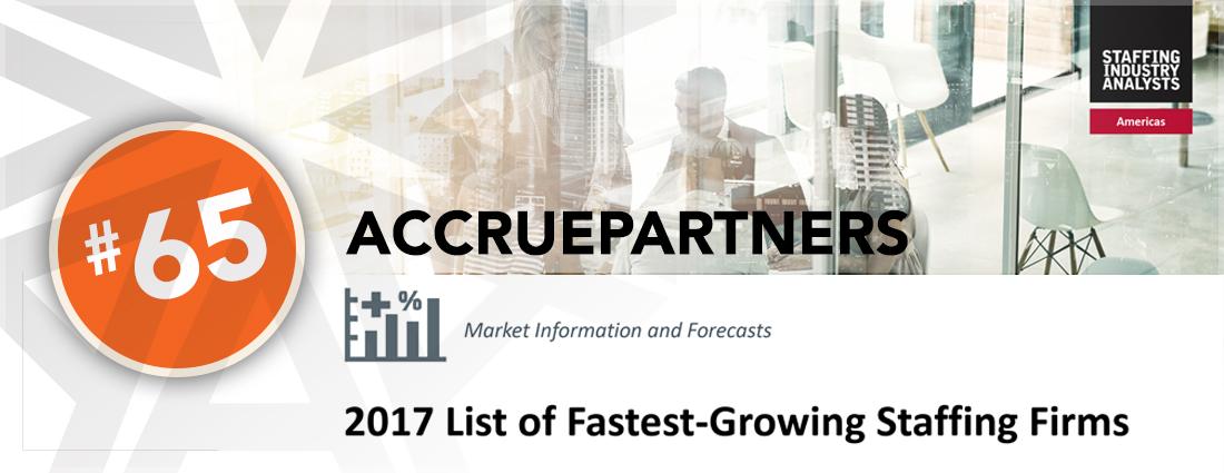 AccruePartners, Staffing industry analysts