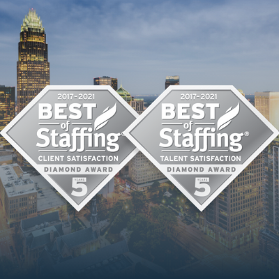 AccruePartners Earns ClearlyRated's Best of Staffing Diamond Awards!