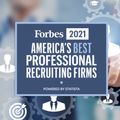 AccruePartners Named Forbes Best Professional Recruiting Firm for 2021