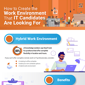 How to Create the Work Environment that IT Candidates Are Looking For