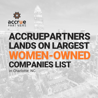 AccruePartners Lands On Charlotte's Largest Women-Owned Companies List