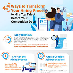 5 Ways to Transform your Hiring Process to Hire Top Talent before your Competiton does